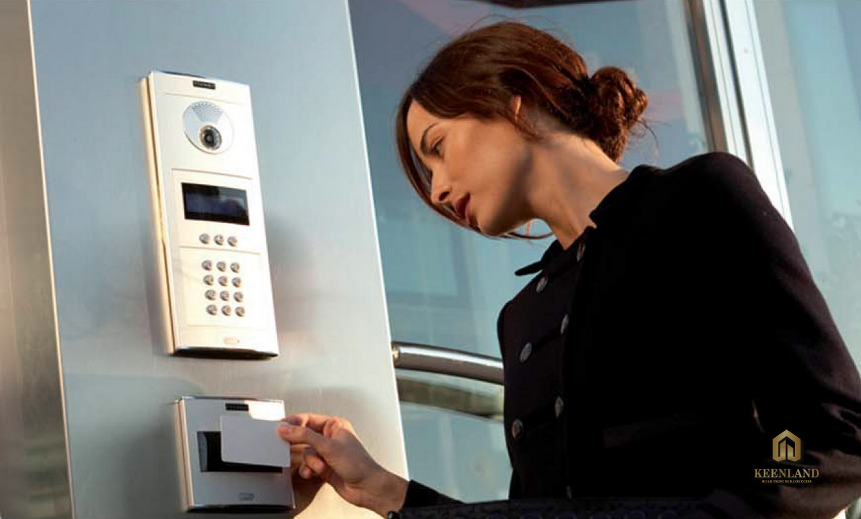 Thẻ từ ra vào thang máy - Tiện ích nội khu cao ốc Nguyễn Phúc Nguyên