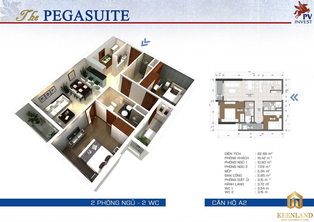 Thiết kế dự án The Pegasuite 1