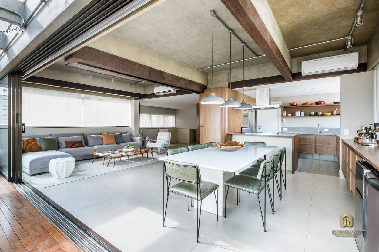 Thiết kế căn hộ mẫu 245 Hoàng Văn Thụ