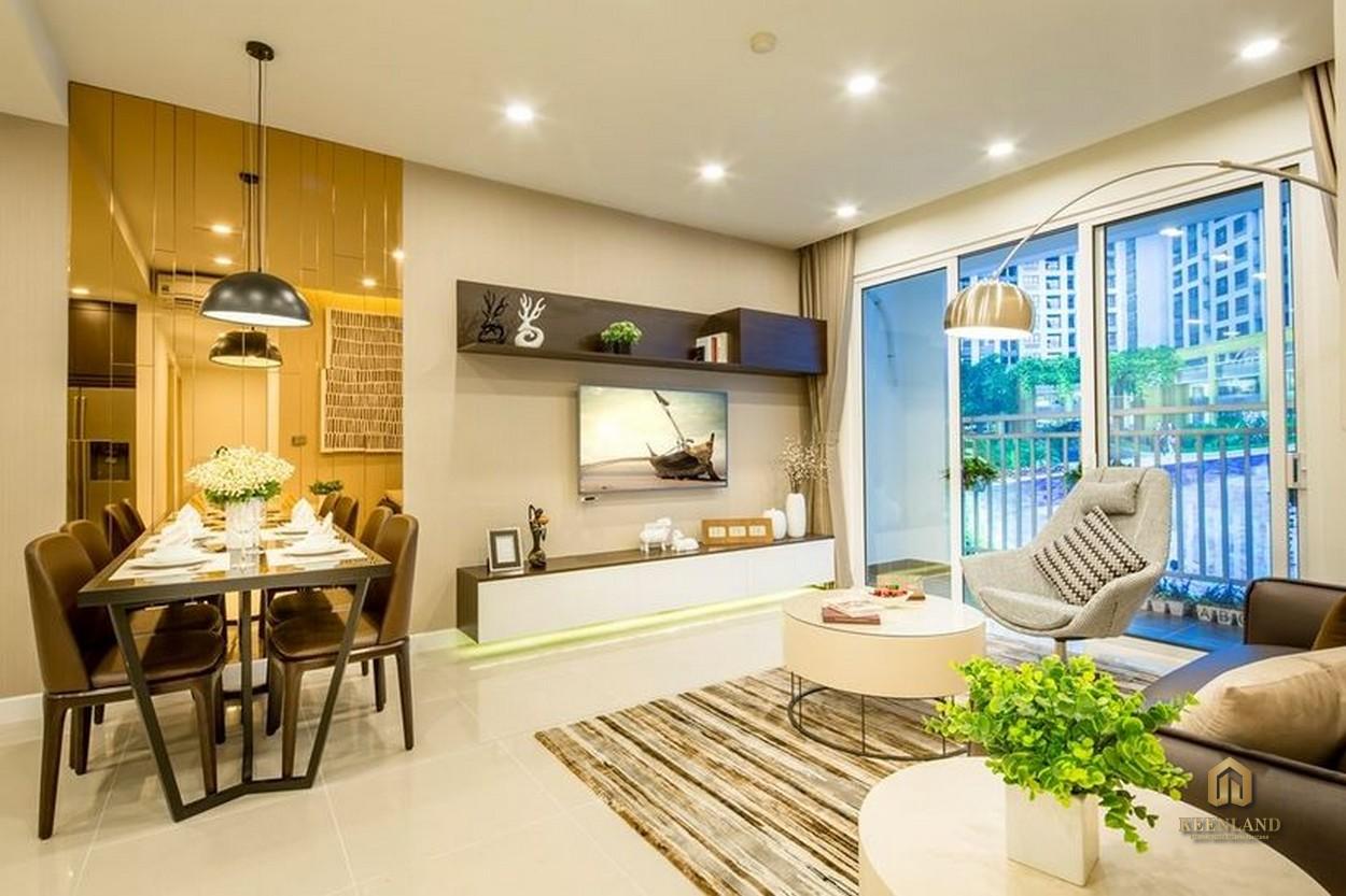 Thiết kế căn hộ mẫu Belleza Apartment Quận 7