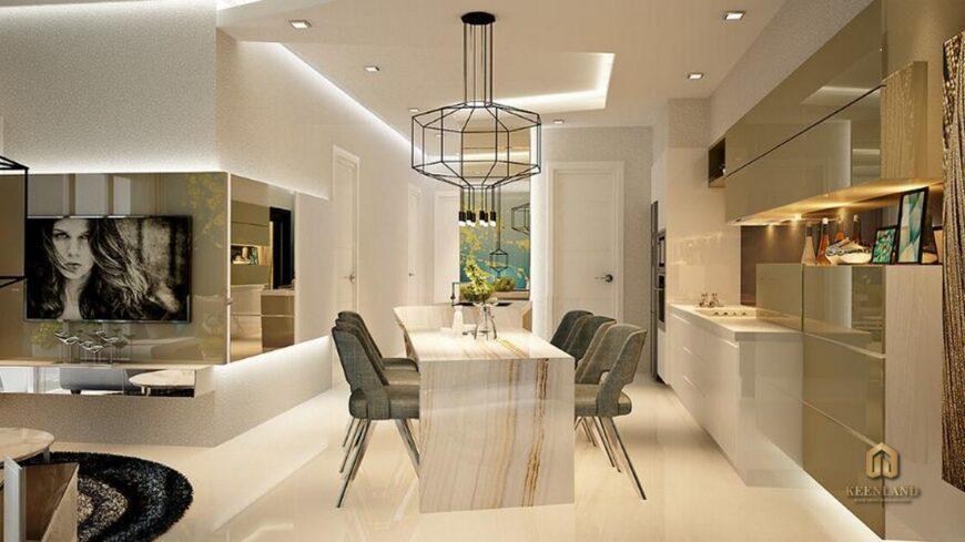 Thiết kế căn hộ mẫu chung cư 155 Nguyễn Chí Thanh