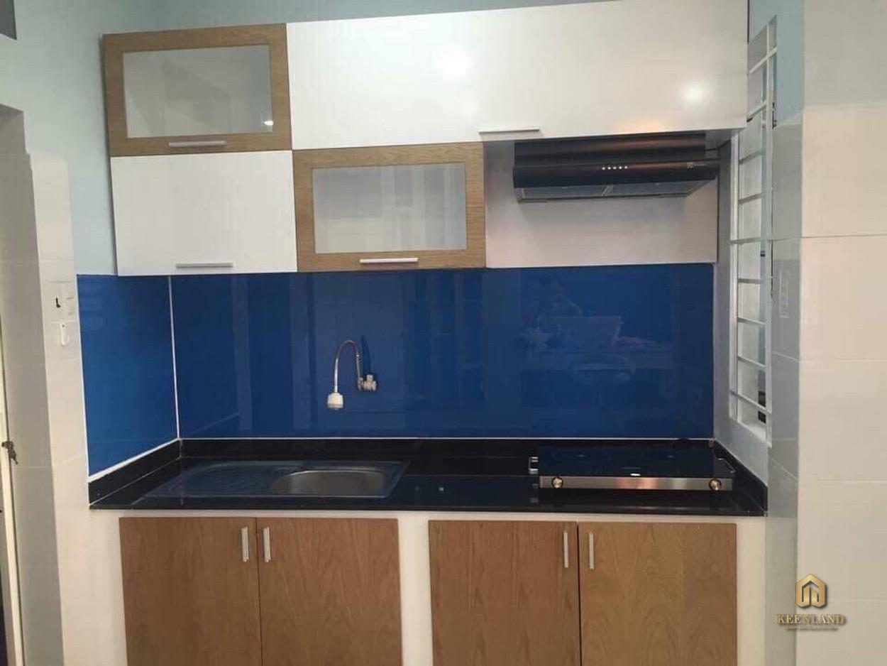 Gian bếp căn hộ 363 Hoàng Sa