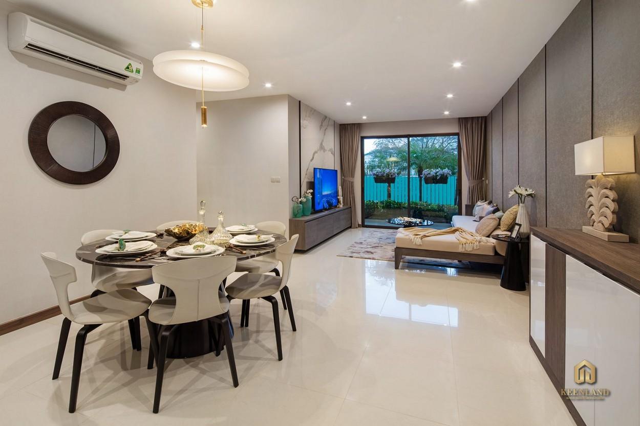 Thiết kế căn hộ mẫu Hado Centrosa 3 phòng ngủ + 1 phòng đa năng