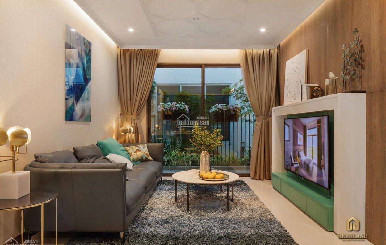Thiết kế phòng khách chung cư 518 Võ Văn Kiệt