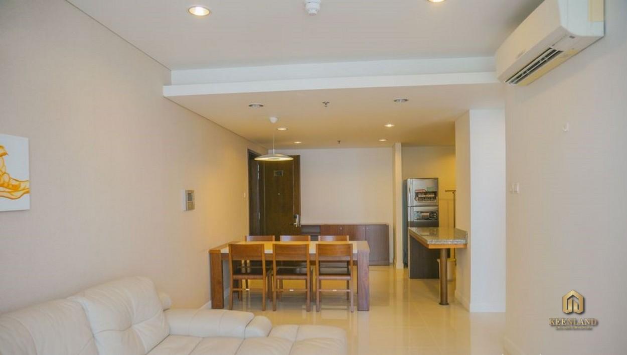 Phòng khách căn hộ An Phú Plaza Quận 3