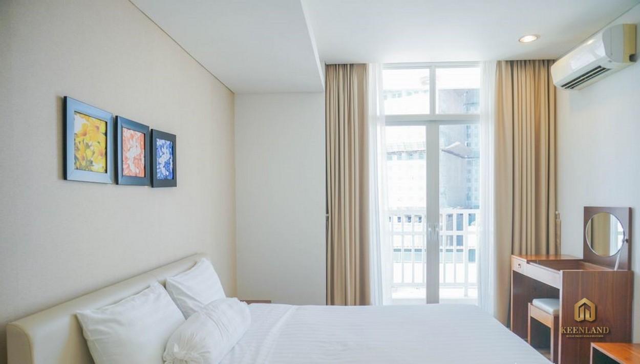 Phòng ngủ căn hộ mẫu An Phú Plaza Quận 3