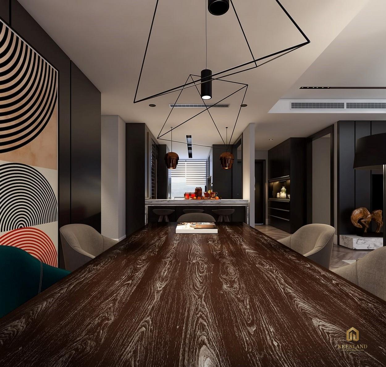Thiết kế căn hộ Avalon Saigon