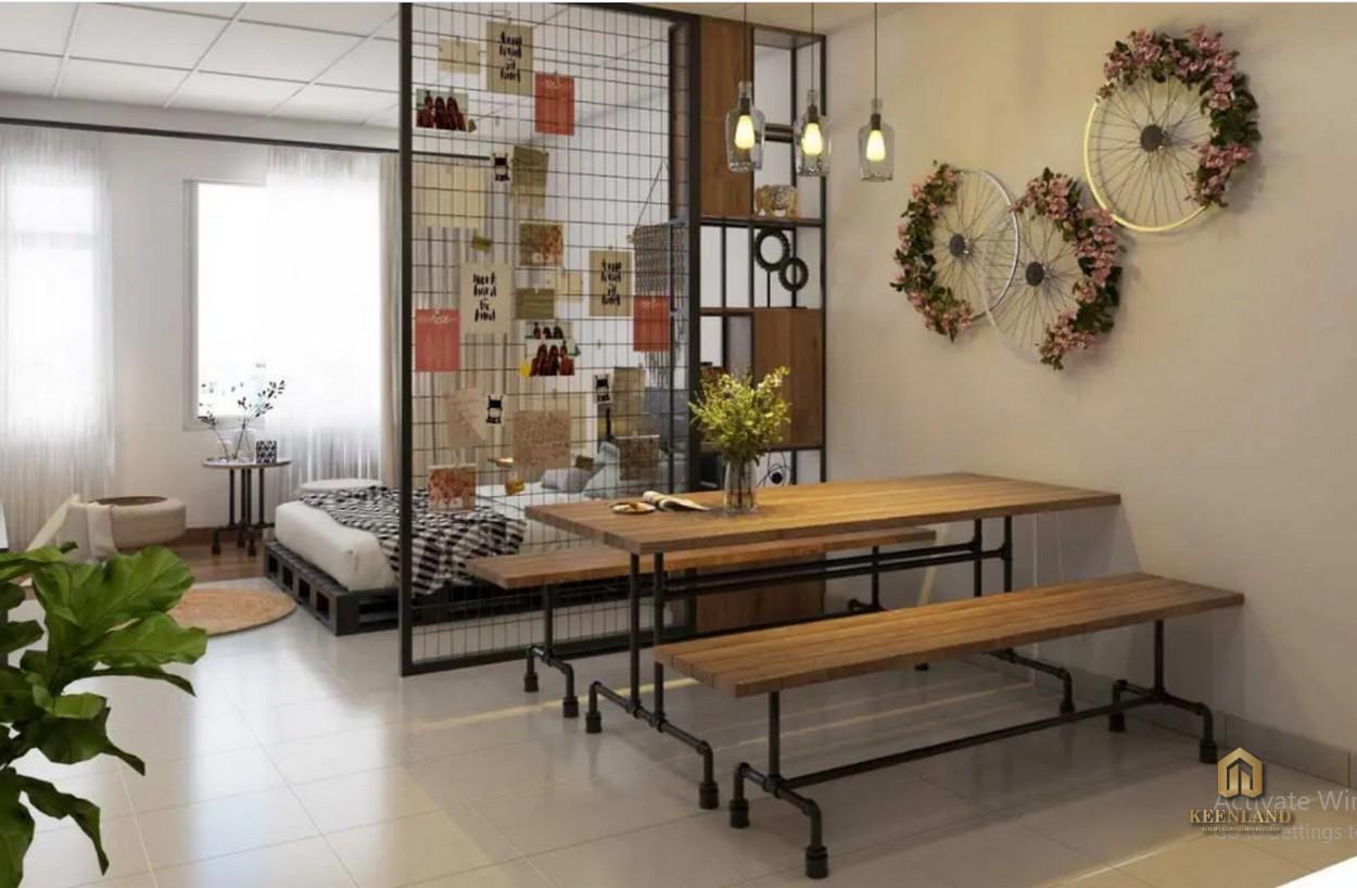 Thiết kế căn hộ mẫu Bee Home