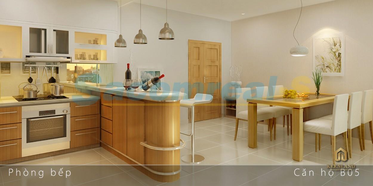 Thiết kế căn hộ mẫu Carrilon 1