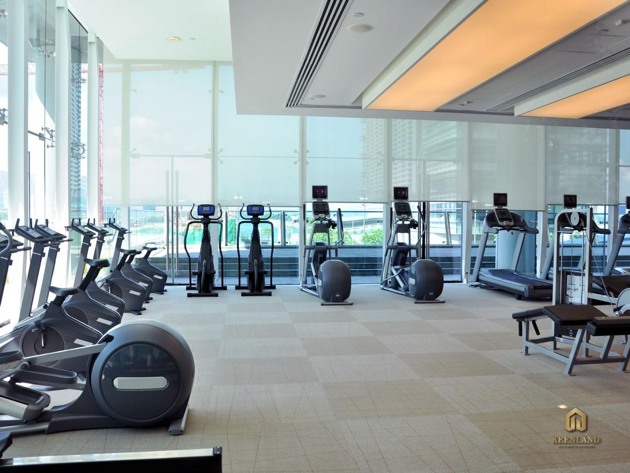 Phòng tập gym hiện đại - Tiện ích nội khu dự án Central Garden