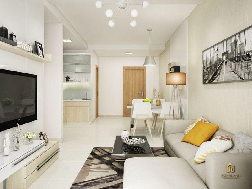 Thiết kế căn hộ mẫu dự án chung cư H2 Hoàng Diệu