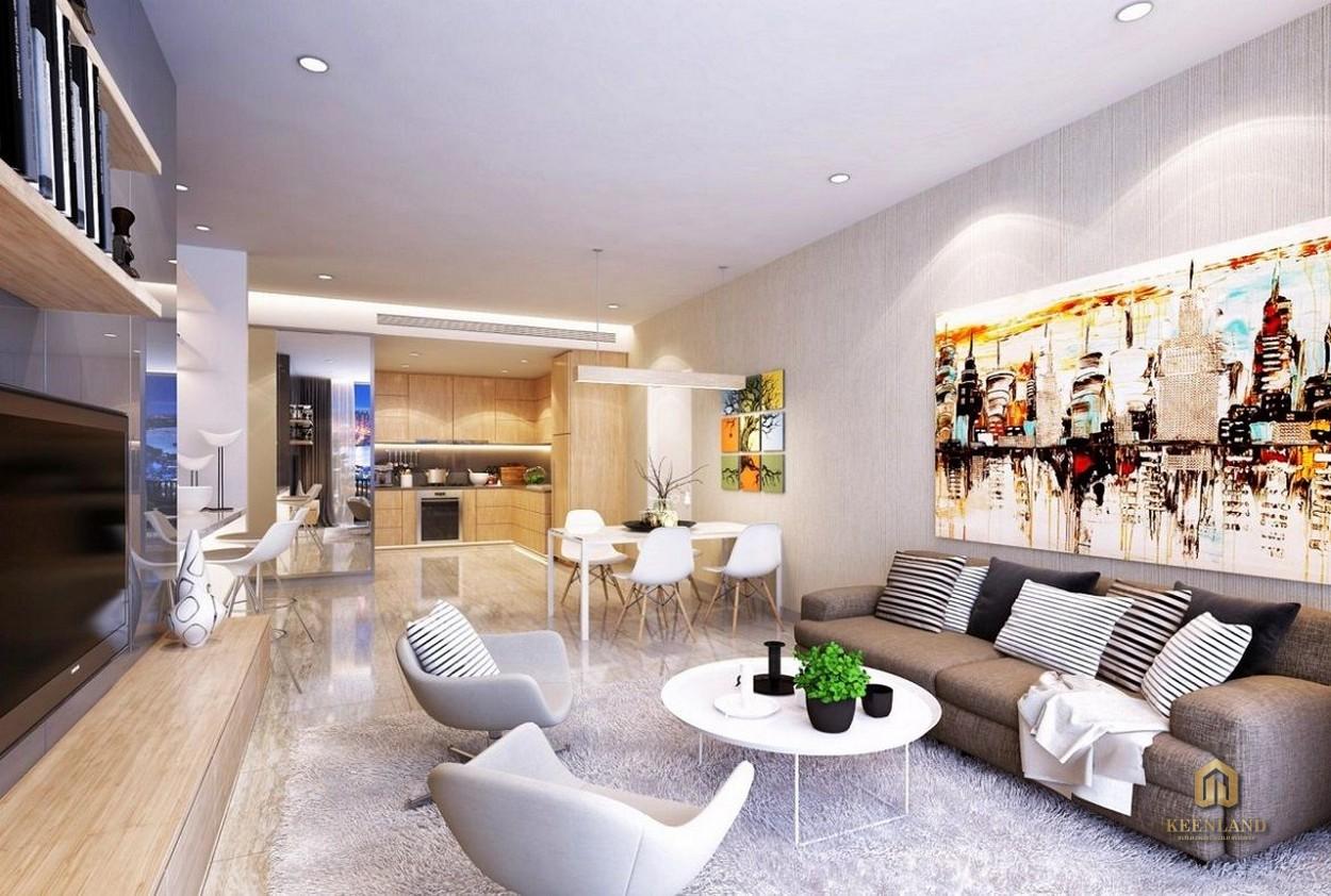 Thiết kế căn hộ mẫu chung cư Copac Square Quận 4