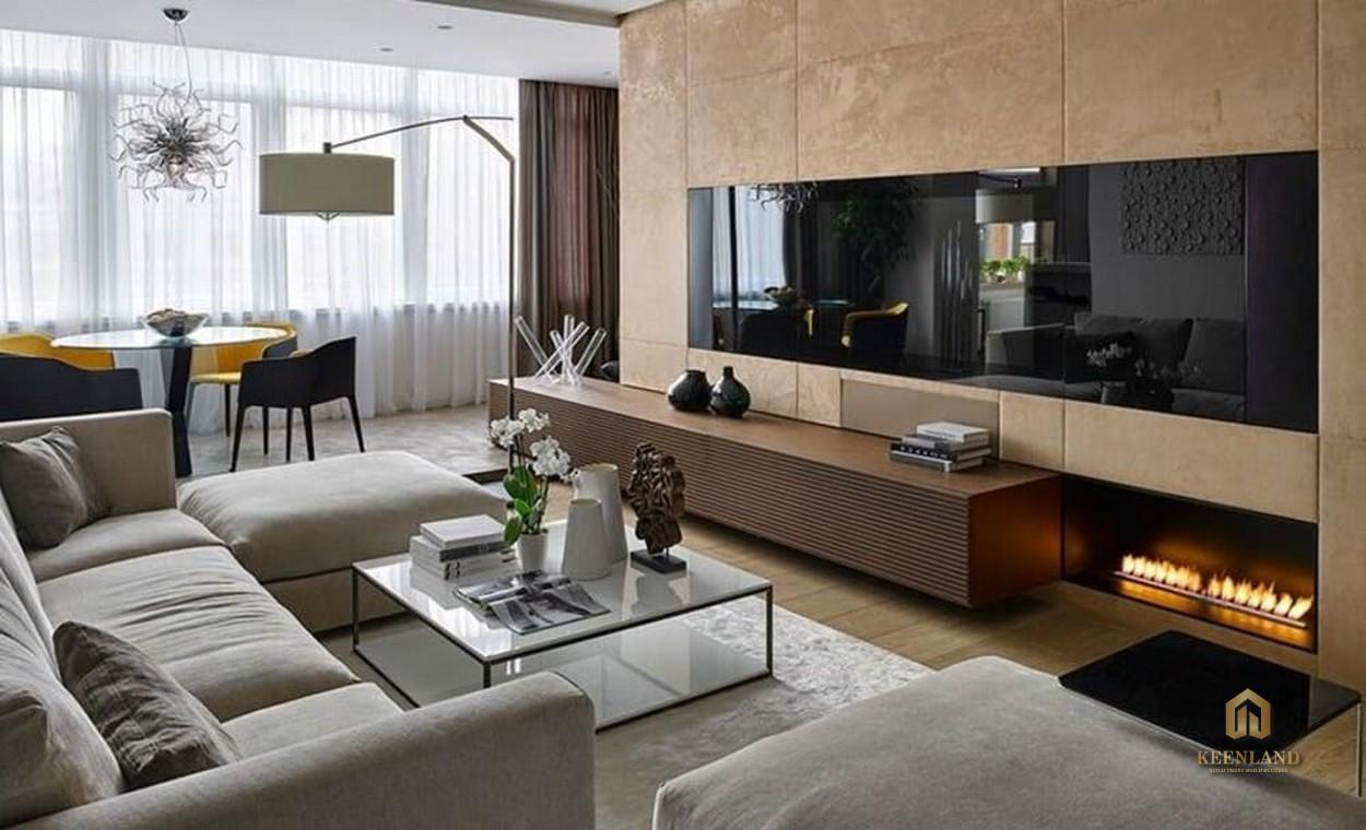 Thiết kế căn hộ mẫu dự án C.T Plaza Minh Châu Quận 3