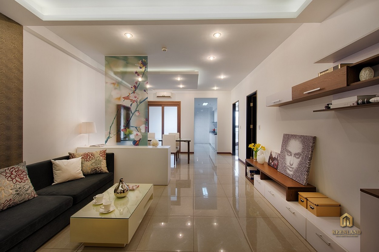 Thiết kế căn hộ mẫu Docklands Saigon Quận 7