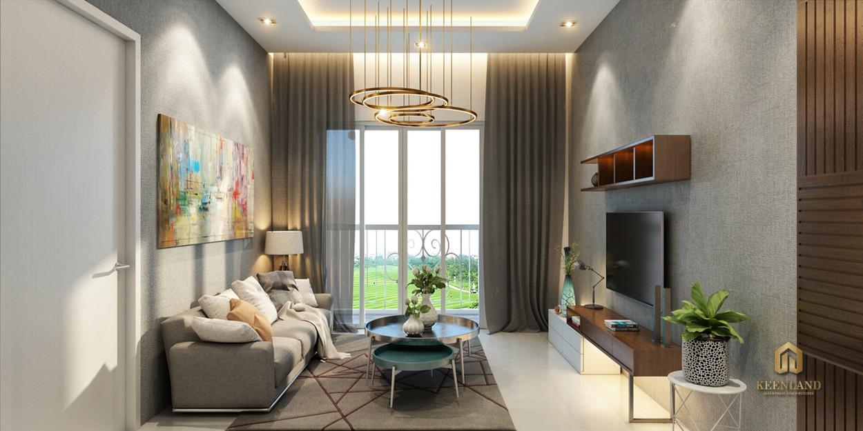 Thiết kế căn hộ mẫu Golf View Palace