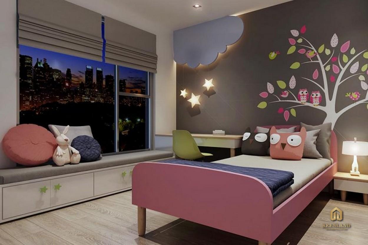 Phòng ngủ căn hộ Harina View