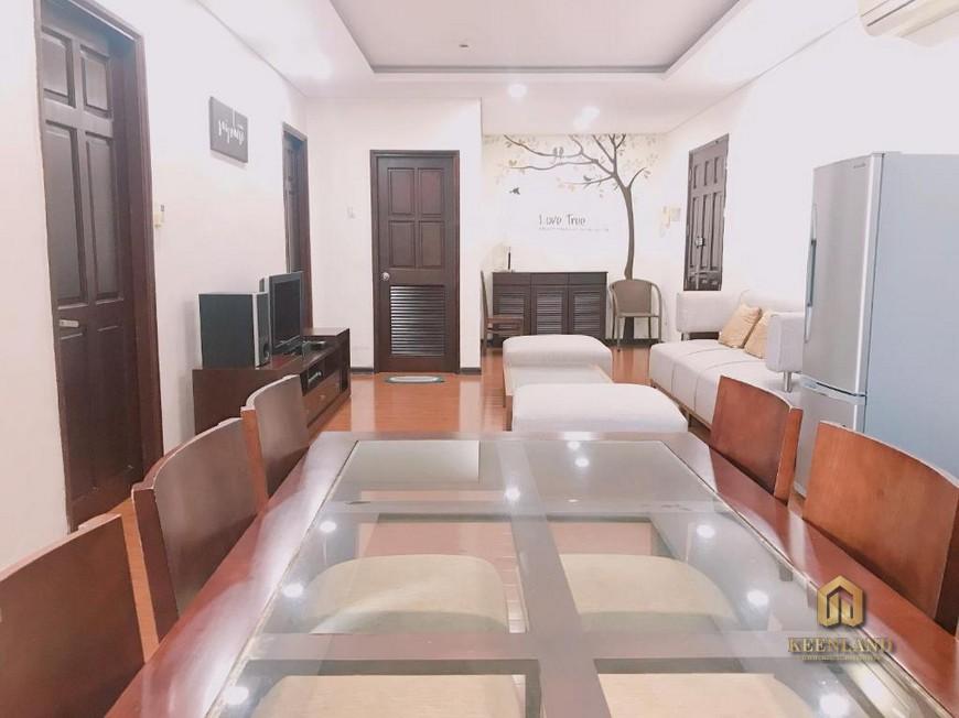 Thiết kế phòng ăn căn hộ International Plaza