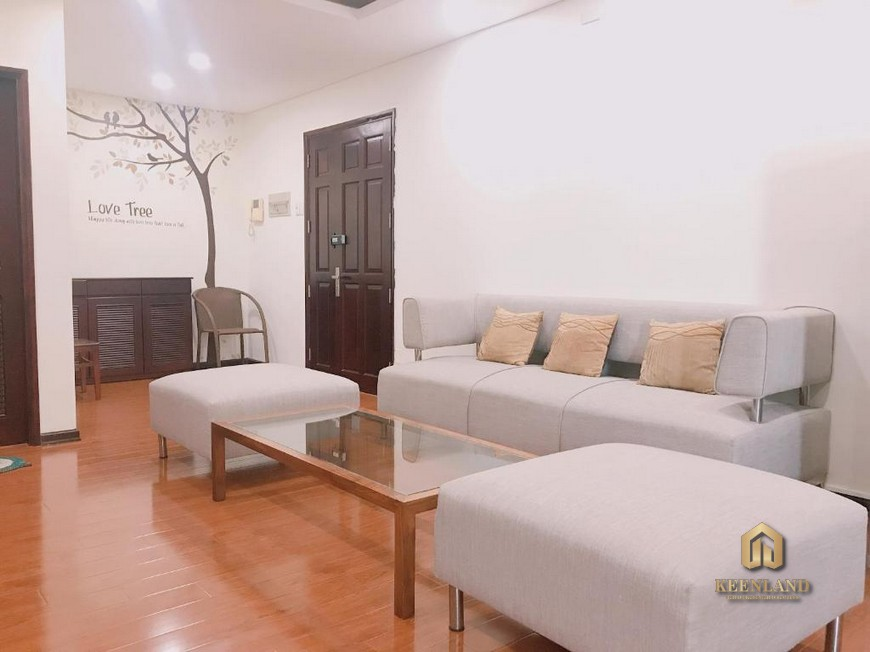 Thiết kế phòng khách căn hộ International Plaza