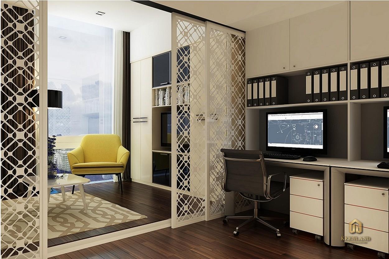 Thiết kế căn hộ mẫu Charmington La Pointe