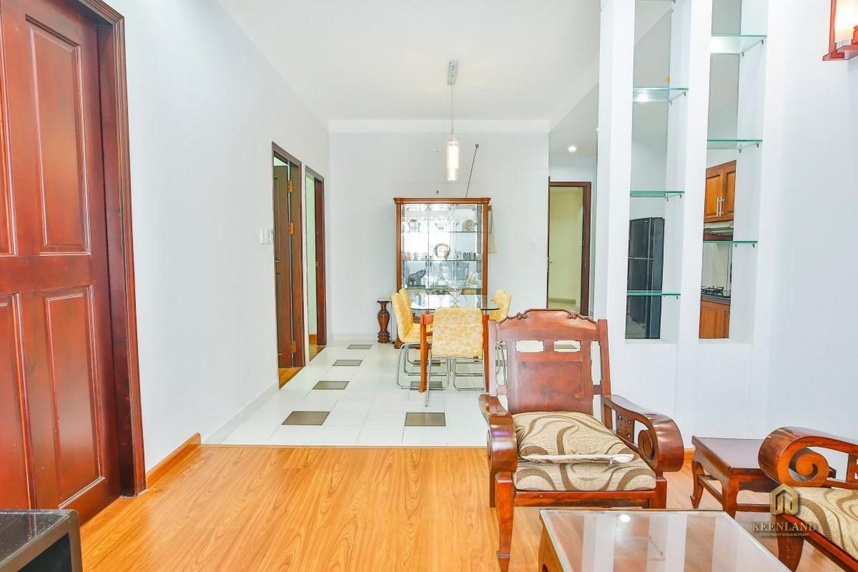 Phòng khách căn hộ Lữ Gia Plaza thực tế