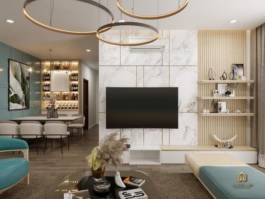 Thiết kế căn hộ mẫu chung cư 203 Nguyễn Trãi
