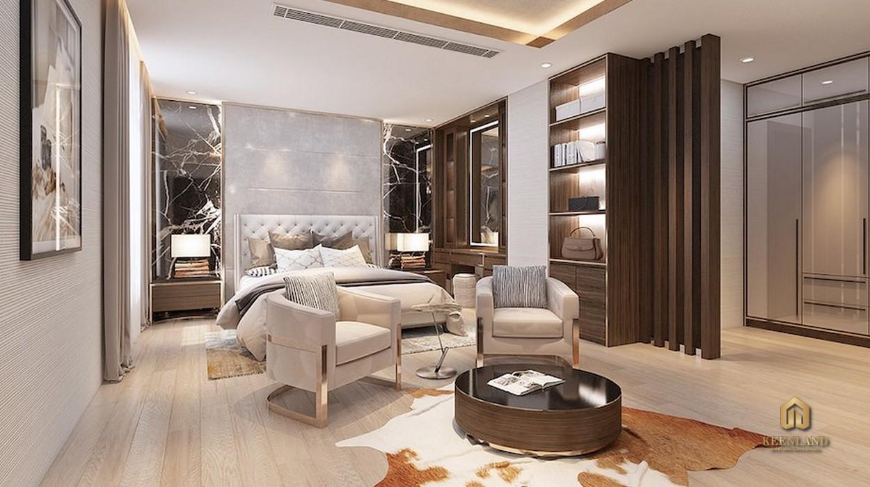 Thiết kế căn hộ mẫu Riverside Residence Quận 7