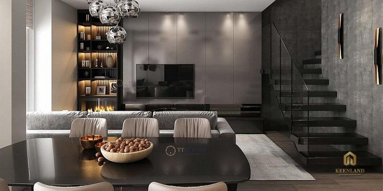 Thiết kế căn hộ mẫu New Pearl Residence Quận 3