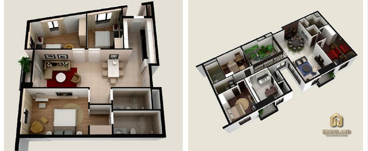 Thiết kế chi tiết căn hộ Ngọc Lan Apartment Quận 7