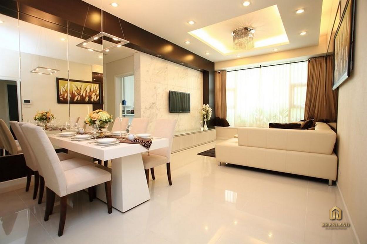 Thiết kế căn hộ mẫu Ngọc Lan Apartment Quận 7