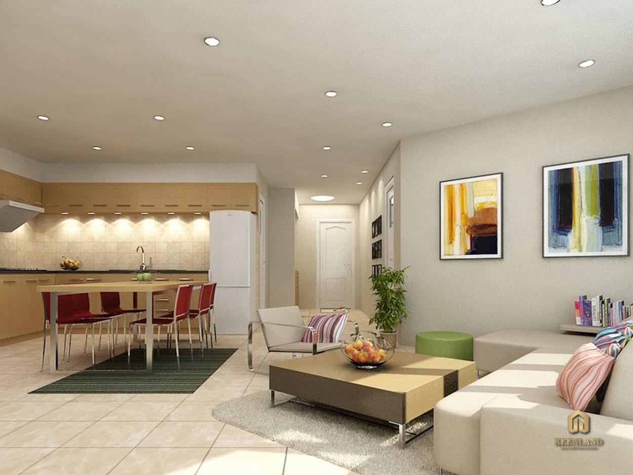 Thiết kế căn hộ mẫu dự án chung cư Orient Department