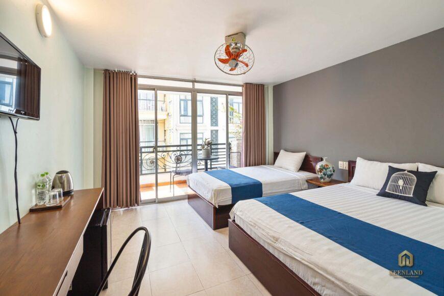 Thiết kế phòng ngủ căn hộ mẫu PNT Court Quận 3