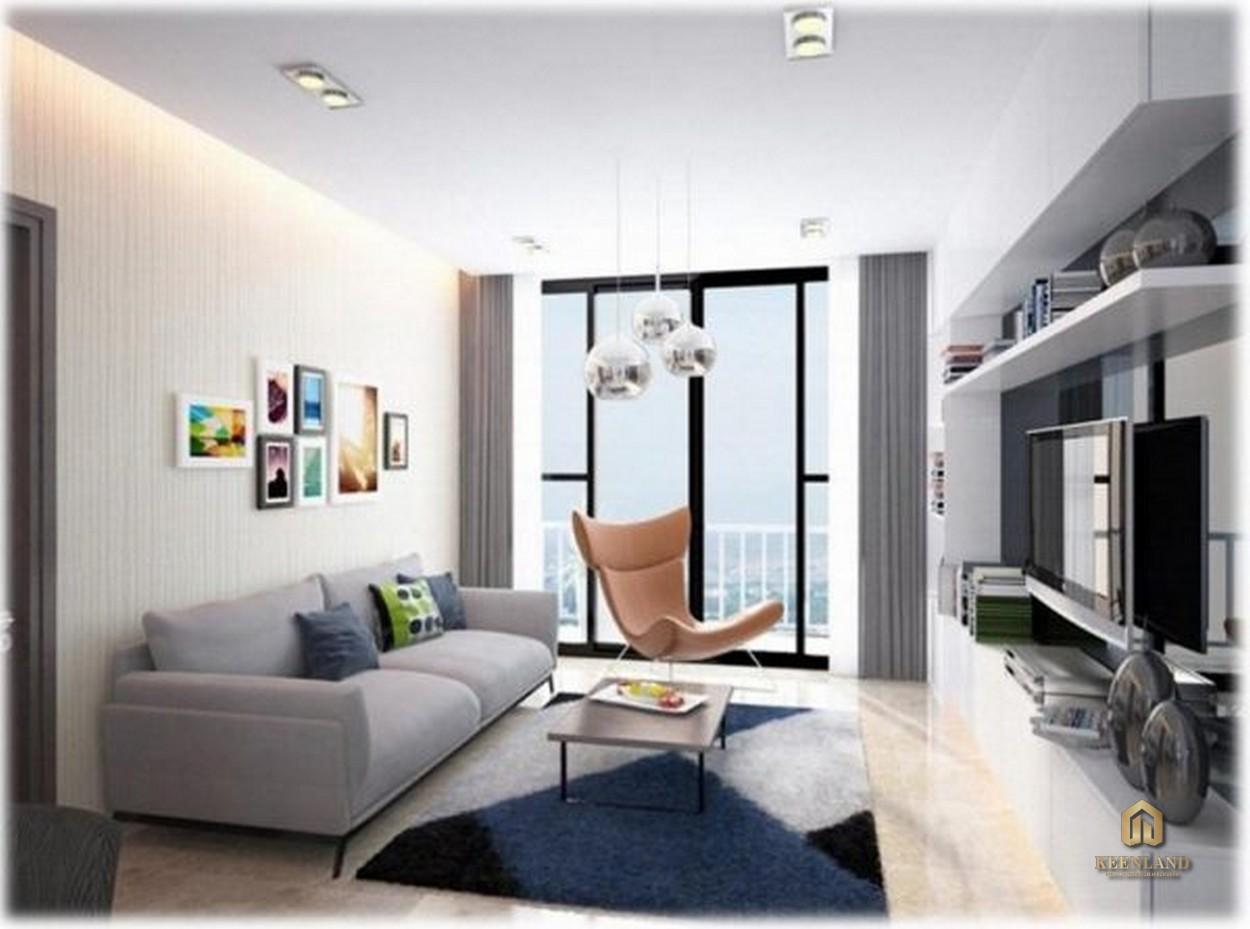 Thiết kế căn hộ mẫu Sky Center