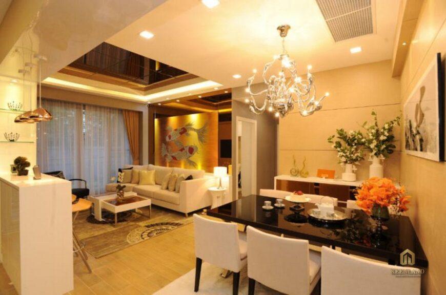 Thiết kế căn hộ mẫu Sông Đà Tower