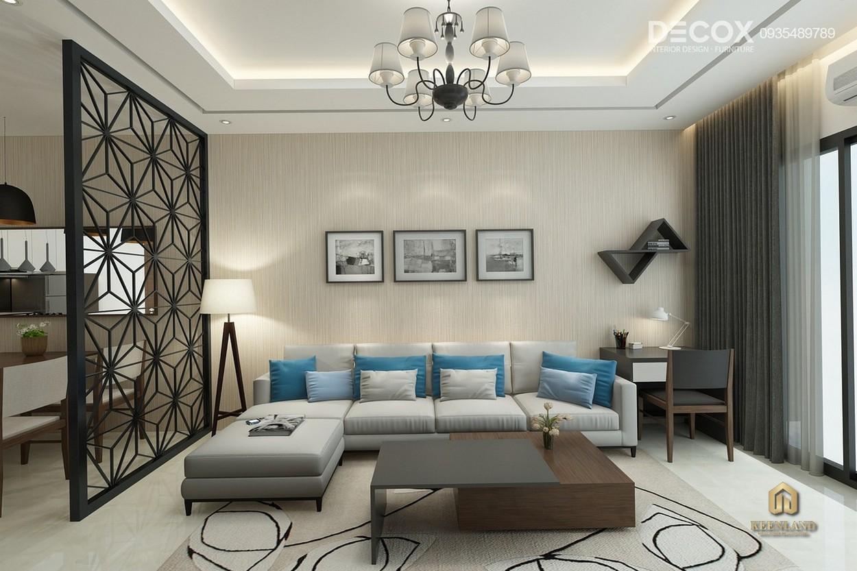 Thiết kế căn hộ mẫu Tân Phước Plaza