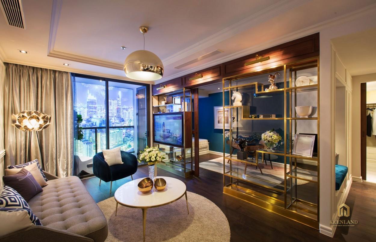 Nội thất căn hộ mẫu dự án The Grand Manhattan