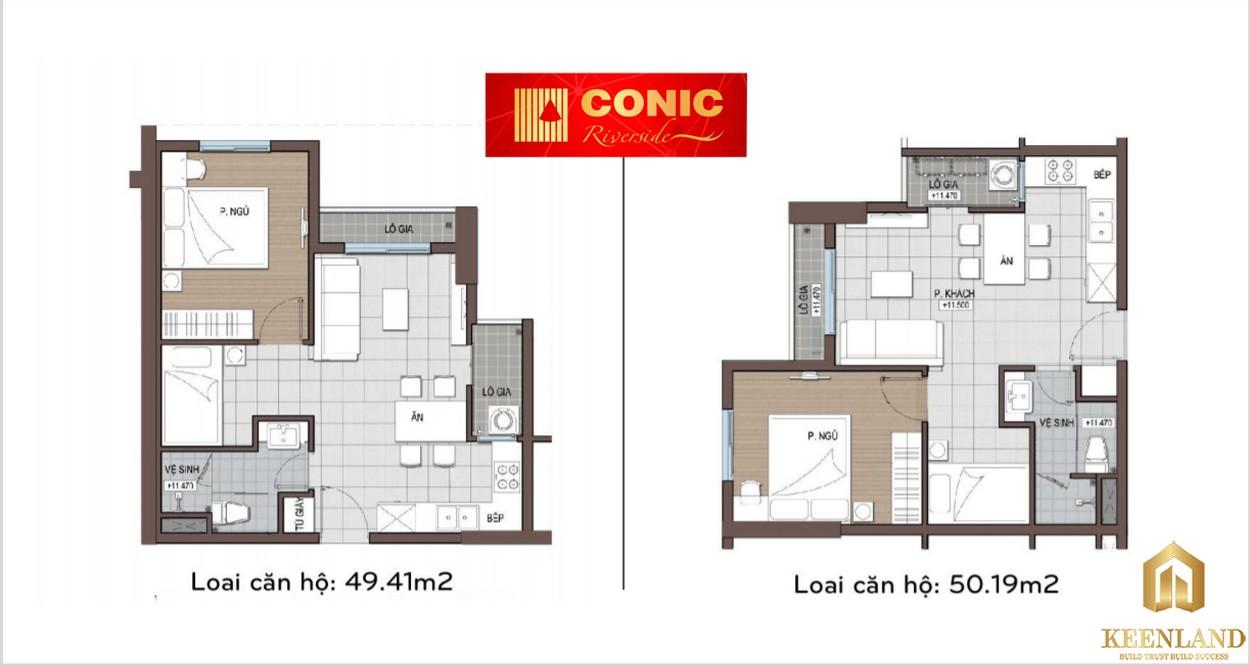 Thiết kế dự án Conic Riverside