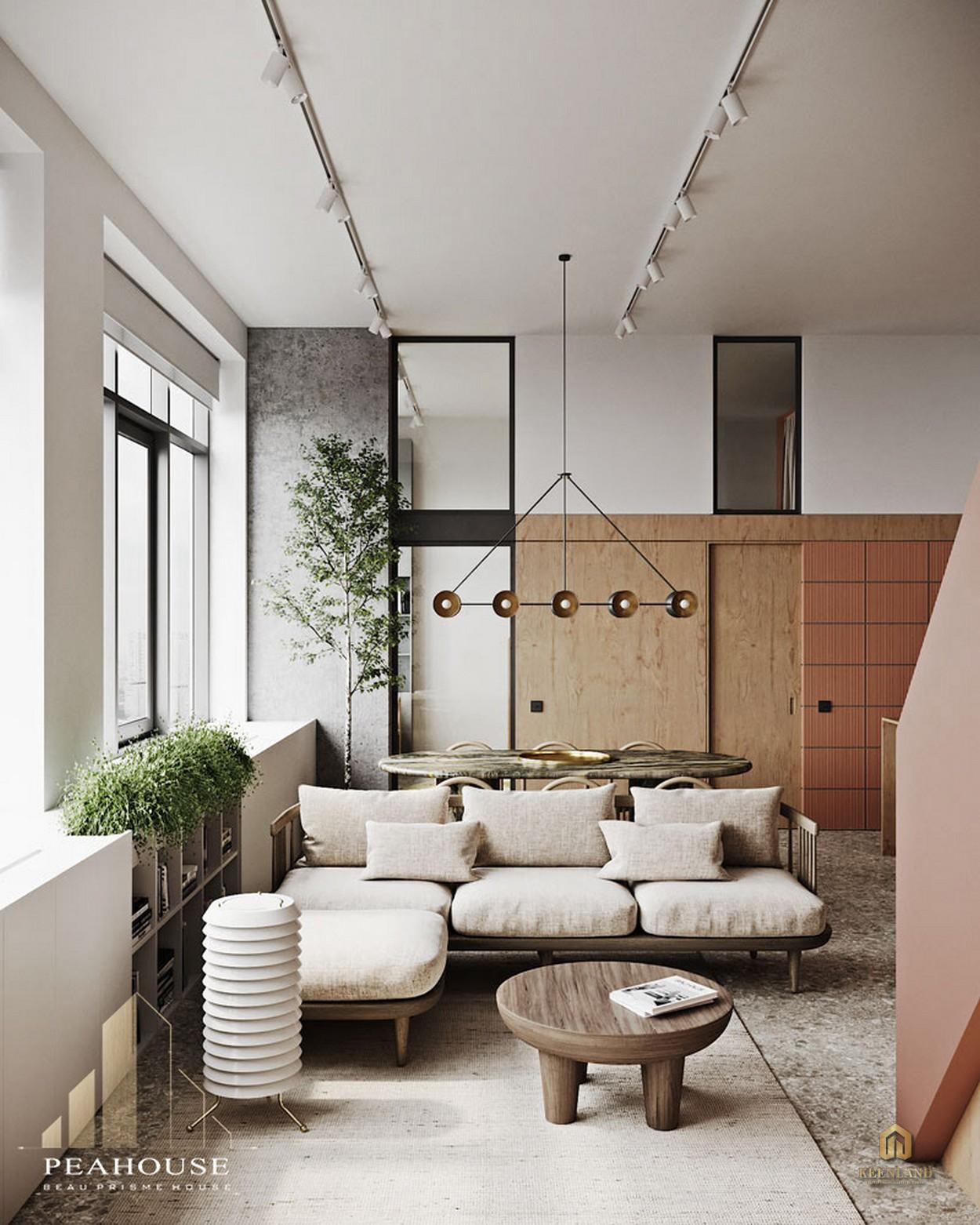 Thiết kế căn hộ mẫu Hưng Vượng 1