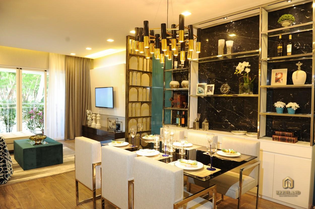 Thiết kế căn hộ mẫu Nam Phúc Le Jardin Quận 7