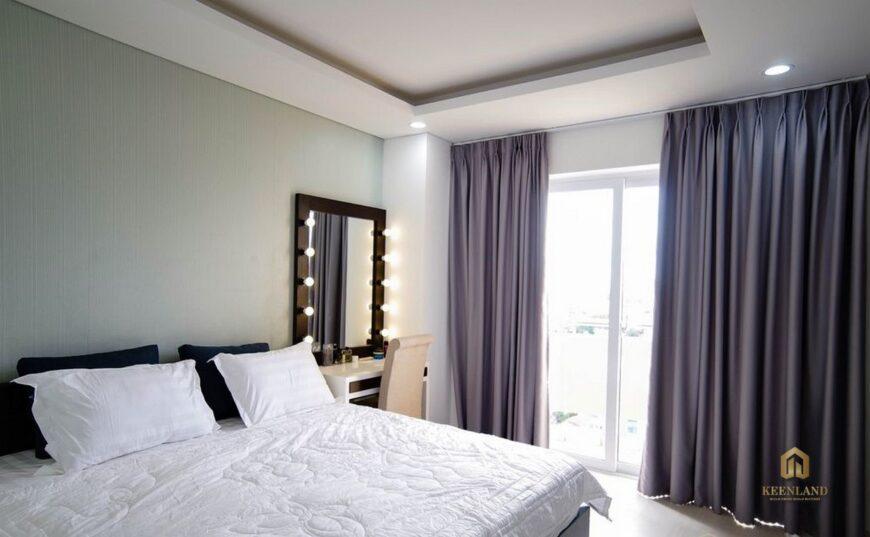 Thiết kế phòng ngủ căn hộ mẫu chung cư Vạn Đô Quận 4