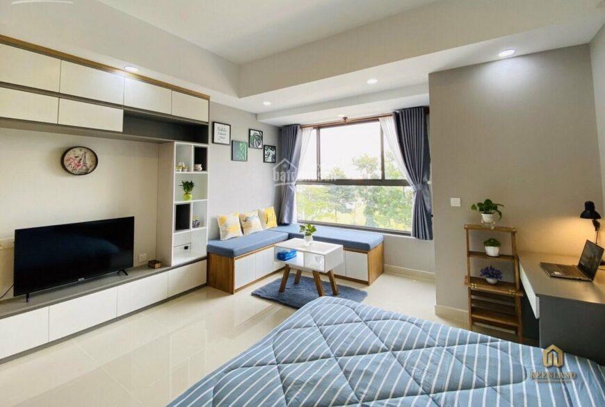 Phòng ngủ căn hộ 203 Nguyễn Trãi