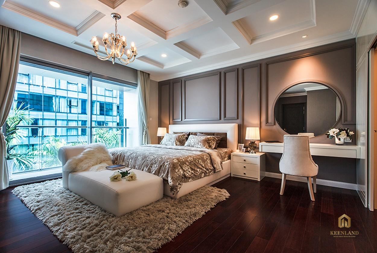 Thiết kế phòng ngủ căn hộ mẫu Vinhomes Đồng Khởi