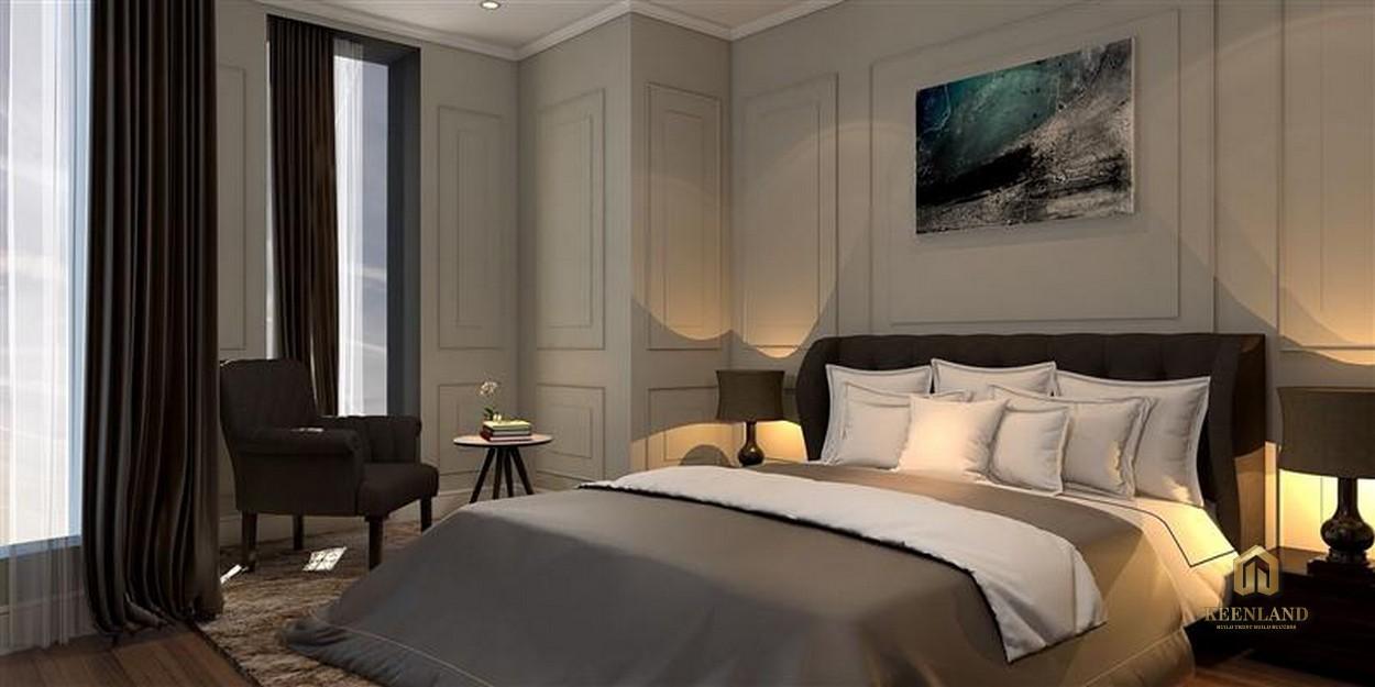 Thiết kế phòng ngủ căn hộ mẫu The Nexus