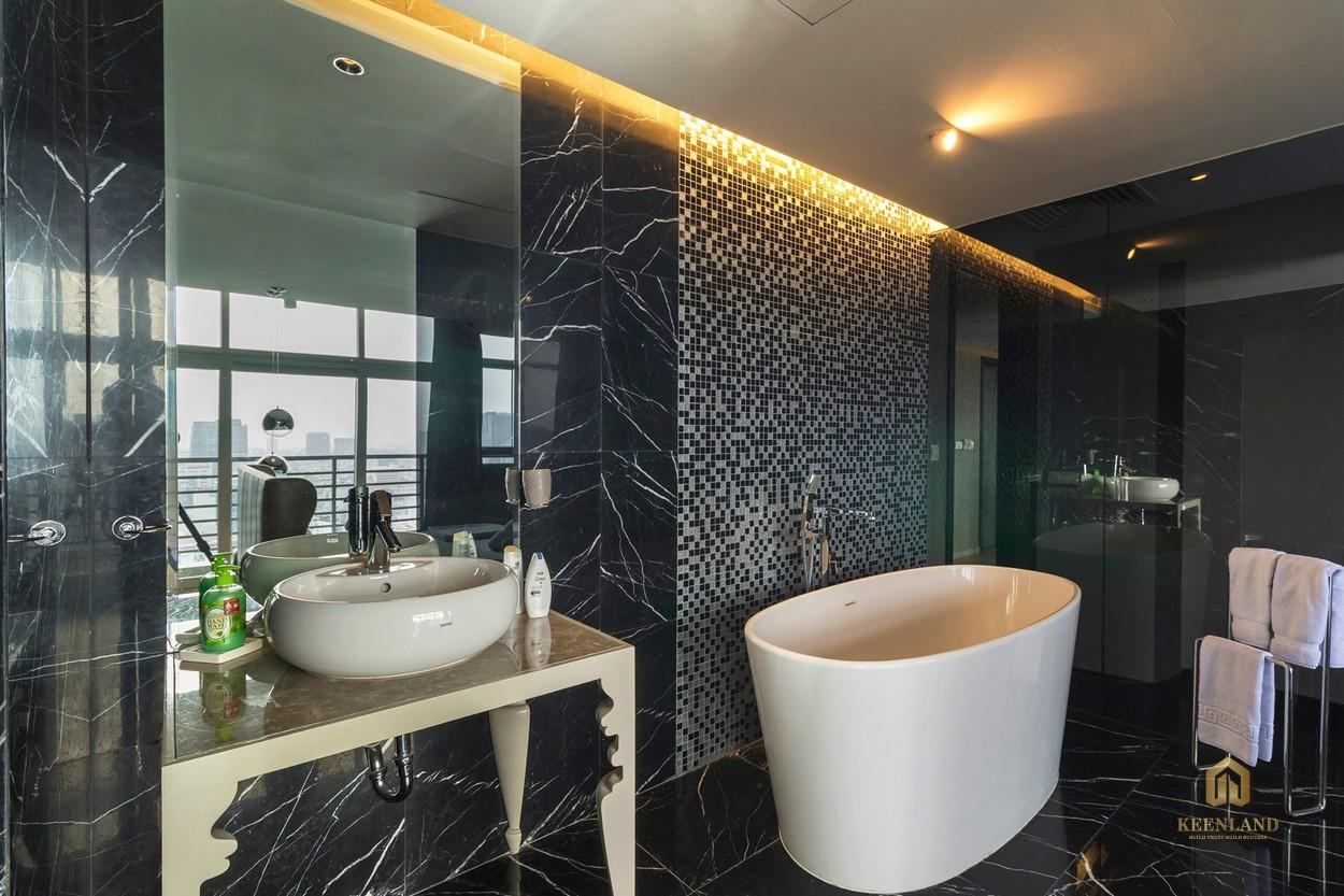 Thiết kế phòng WC căn hộ mẫu The One Saigon