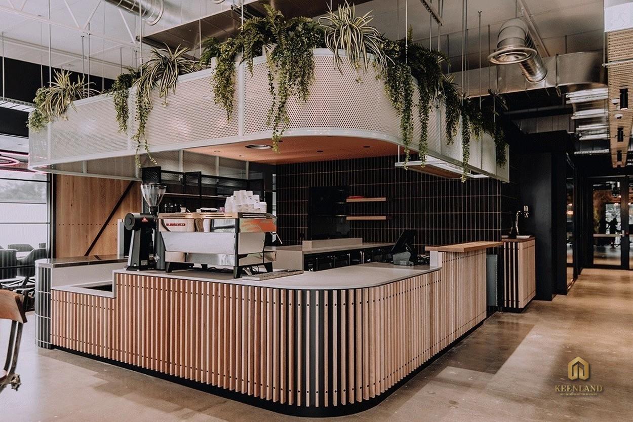 Quầy bar cafe - Tiện ích nội khu dự án chung cư Thuận Việt