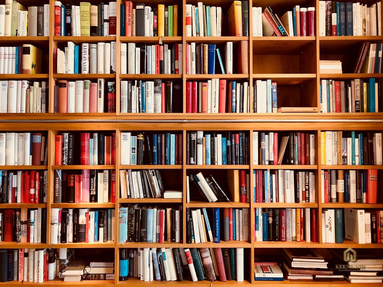 Thư viện cao cấp - Tiện ích nội khu dự án C.T Plaza Minh Châu Quận 3