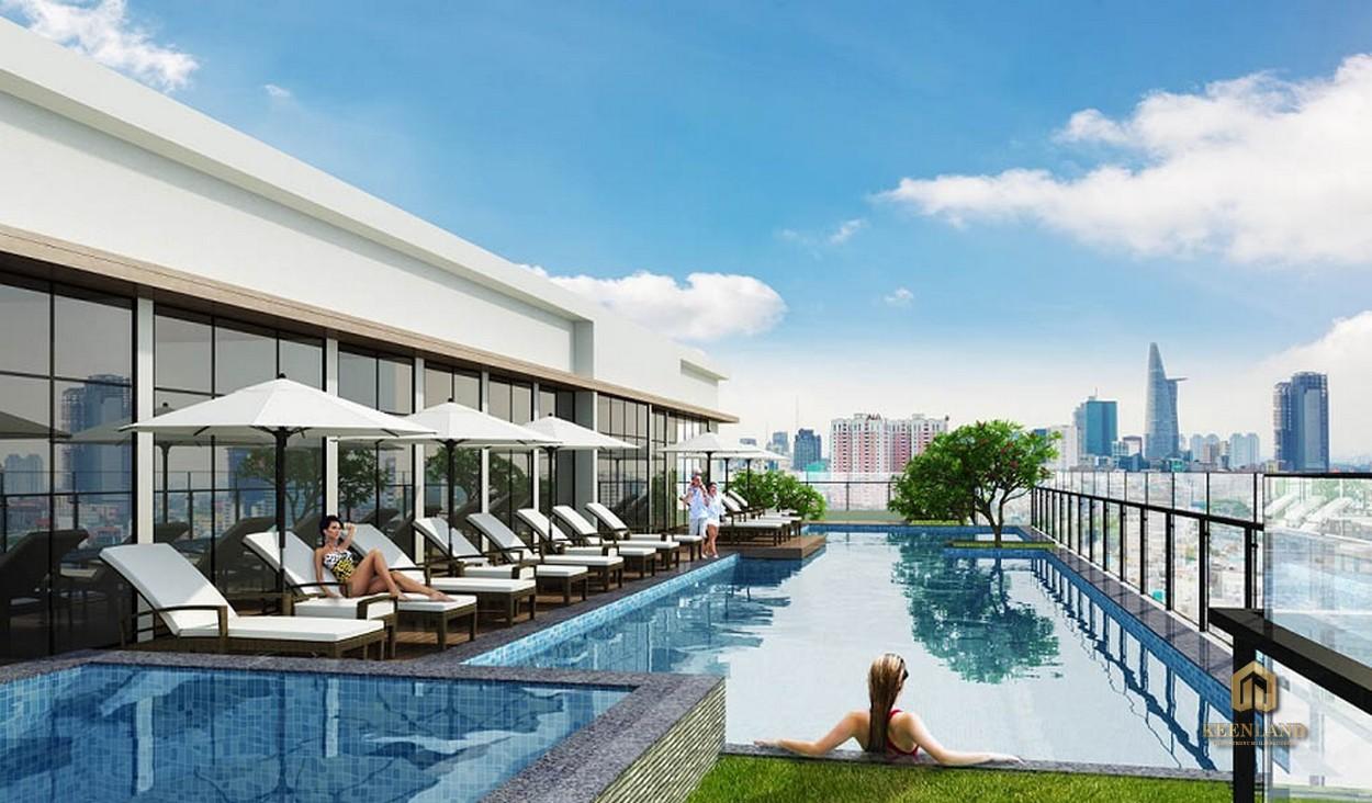 Bể bơi 4 mùa - Tiện ích nội khu dự án The Nexus