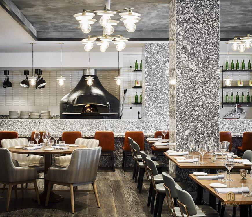 Nhà hàng sang trọng - Tiện ích nội khu dự án căn hộ BMC