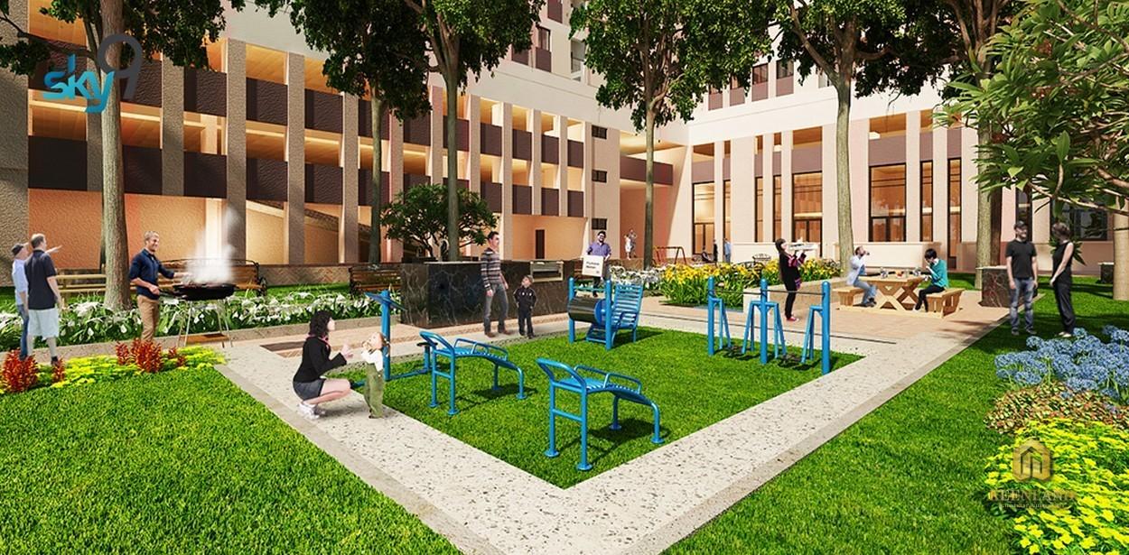 Công viên nội khu dự án