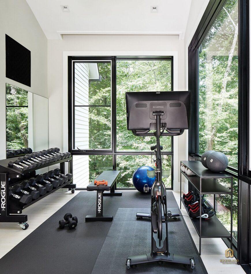 Phòng tập gym hiện đại - Tiện ích nội khu dự án 203 Nguyễn Trãi