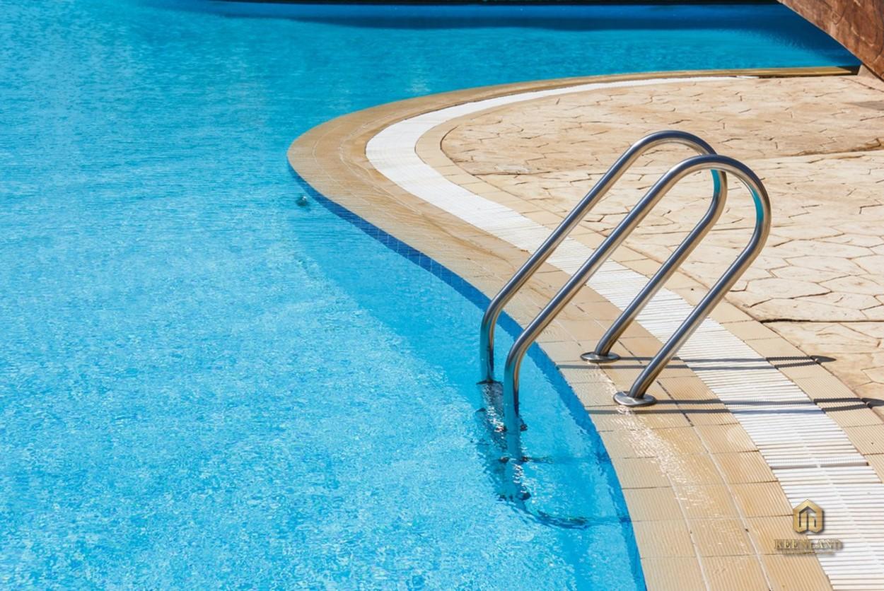 Bể bơi rộng lớn - Tiện ích nội khu dự án Central Garden